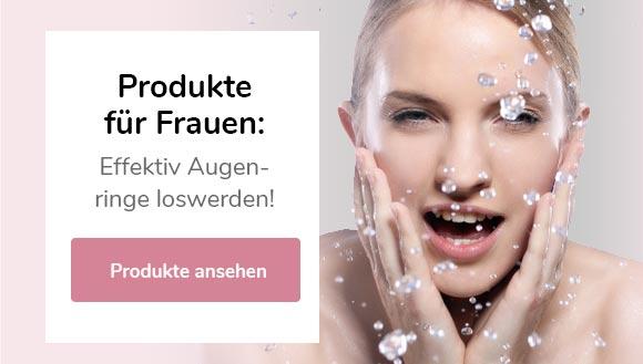 Augenringe Produkte Frauen