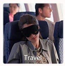 Schlafmaske gegen Augenringe
