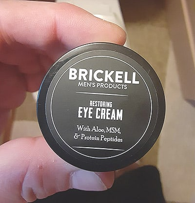 Brickell Eye Cream Test