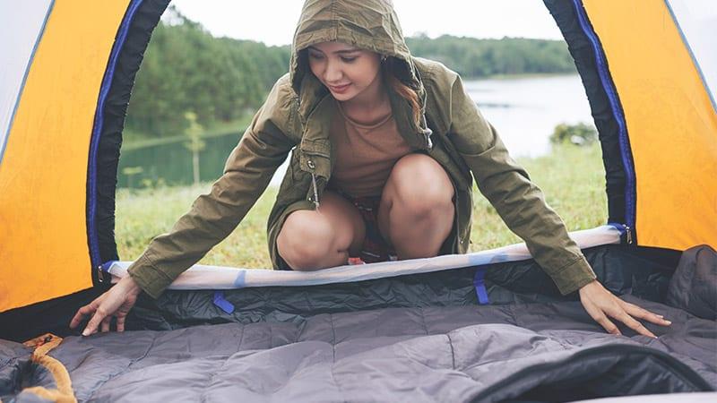 Camping Matratze