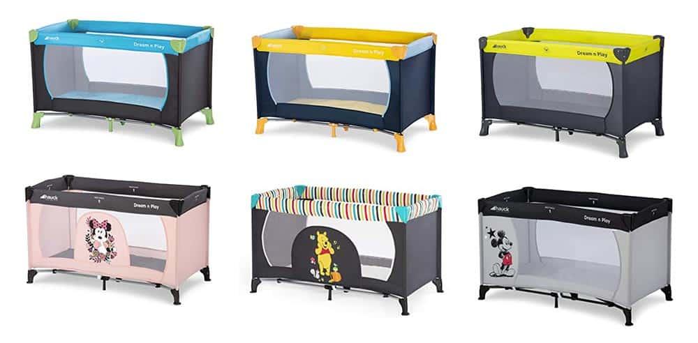 Kinder Reisebett Design Varianten