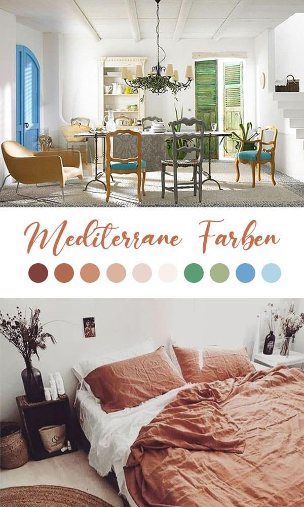 Mediterrane Farben