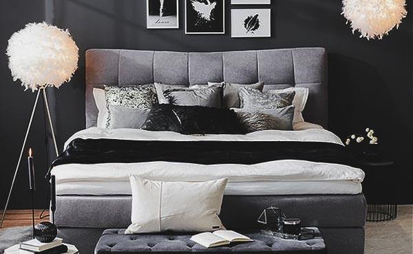 Schlafzimmer in Schwarz einrichten