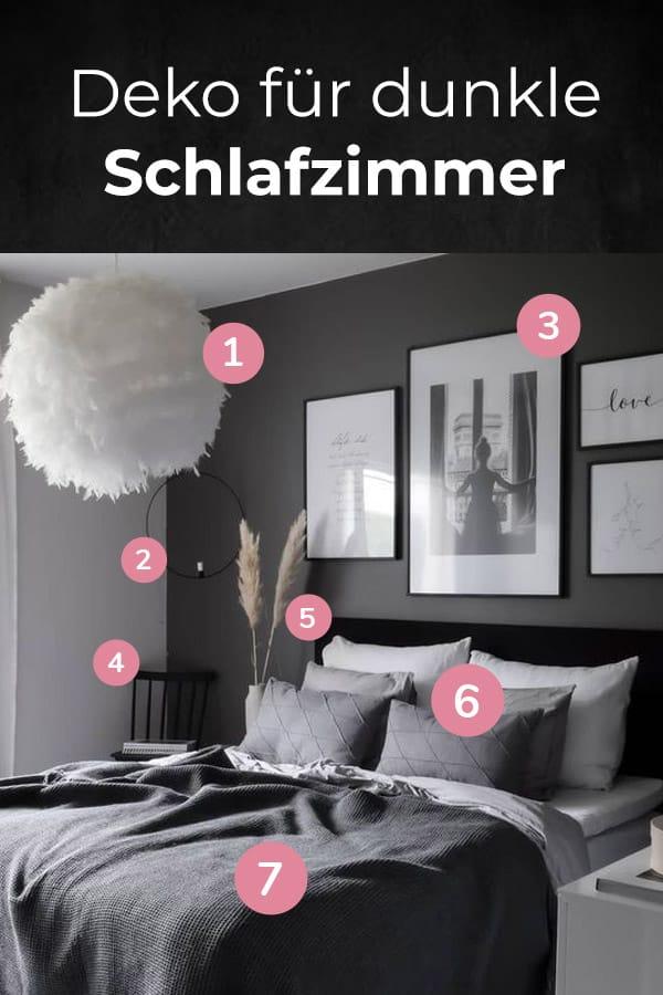 Schlafzimmer in Schwarz einrichten Ideen & Möbel