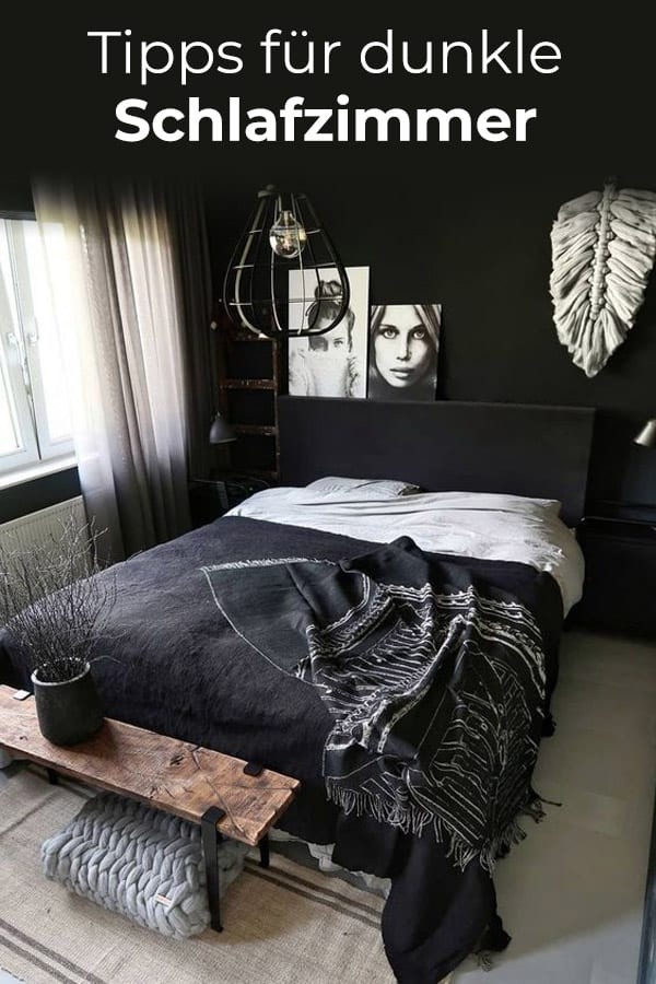 Tipps für dunkle Schlafzimmer
