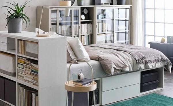 Kleine Schlafzimmer