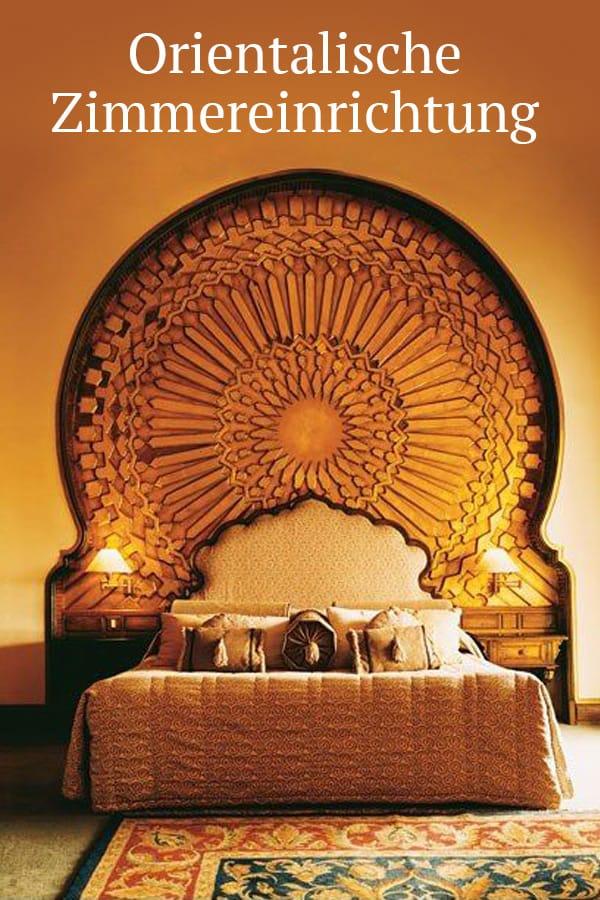 Orientalische Schlafzimmereinrichtung
