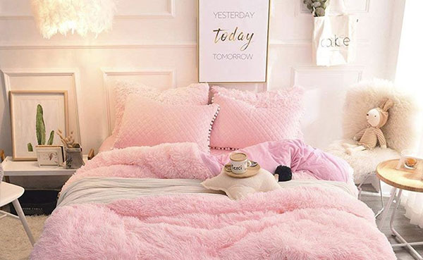 Schlafzimmer rosa einrichten