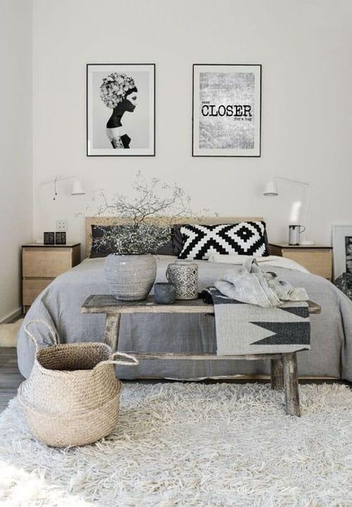 Schlafzimmer im skandinavischen Stil einrichten (Scandi-Look)