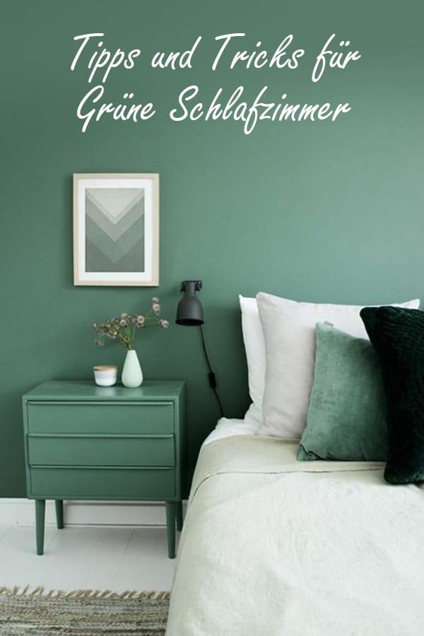 Tipps und Tricks für grüne Schlafzimmer